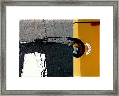 What A Construction Site Framed Print by Marlene Burns