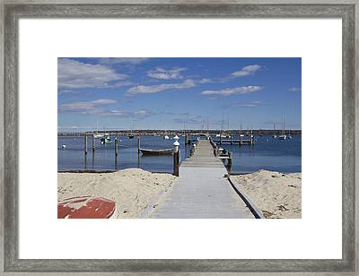 What A Day  Framed Print by Eugene Bergeron