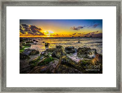What A Day Framed Print by Marvin Spates