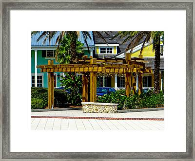 What A Morning Framed Print by Dennis Dugan
