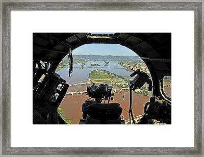 Framed Print featuring the photograph What A View by Dan Myers