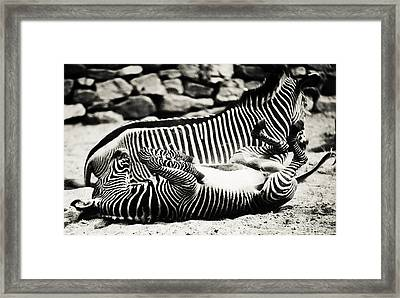 What A Wonderful Life Framed Print by Jenny Rainbow
