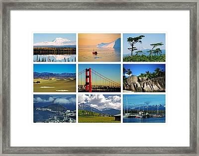 My Wonderful World ... Framed Print