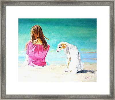 What About Me  Framed Print
