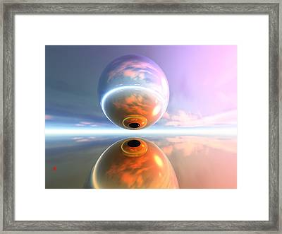 What Are You Looking At Framed Print by Adam Vance