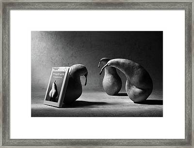 What Are You Reading, Son?! Framed Print
