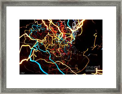 What Do U C  Framed Print by Size X
