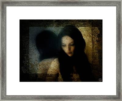 What Do You Say Sister Sorrow Framed Print by Gun Legler