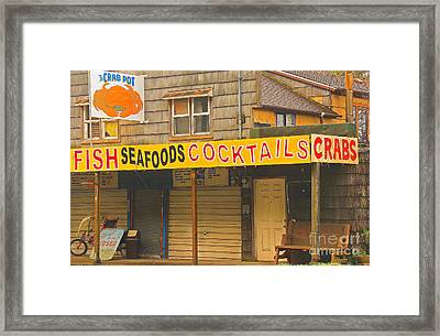 What Else Could You Want In Lincoln City Oregon Framed Print by Kris Hiemstra