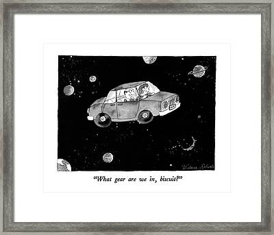 What Gear Framed Print by Victoria Roberts