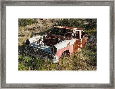 What Happened Volvo Framed Print