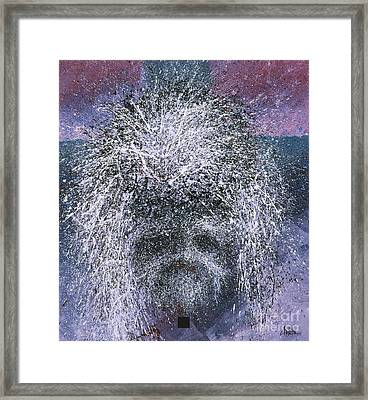 What He Became Framed Print