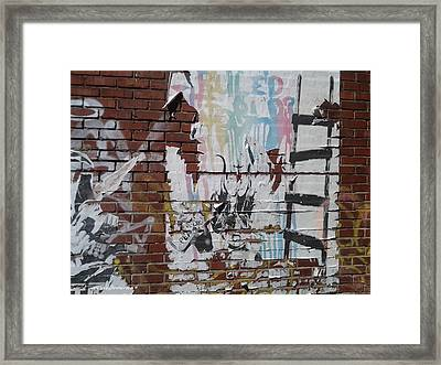 What If Art Ruled The World? Framed Print by Lesley Fletcher