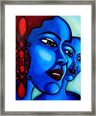 What Is An Individual? Framed Print by India Samara