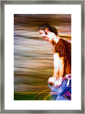 What Is He Thinking? Framed Print by Dylan  Bouchard
