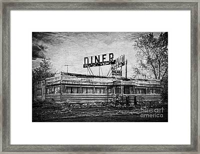 Framed Print featuring the photograph What Is On The Menu by Debra Fedchin