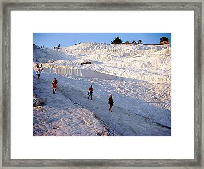 What Is Wrong In This Picture Framed Print by Zafer Gurel