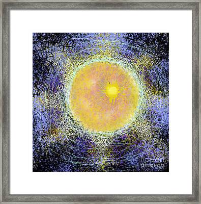 What Kind Of Sun V Framed Print