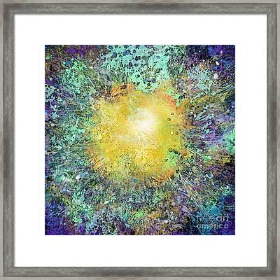 What Kind Of Sun Vii Framed Print