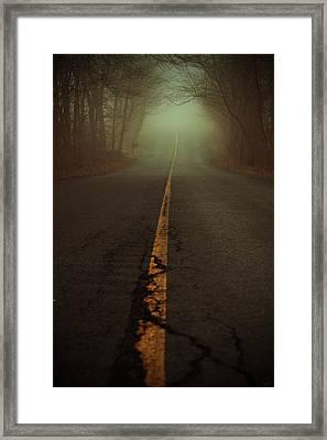 What Lies Ahead Framed Print by Karol Livote