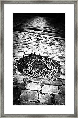 What Lies Beneath These Streets Of Gold Framed Print by Matthew Blum