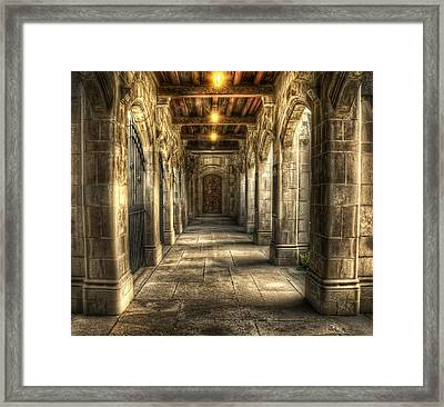 What Lies Beyond Framed Print by Scott Norris