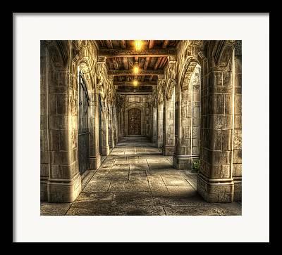 Mystery Door Framed Prints