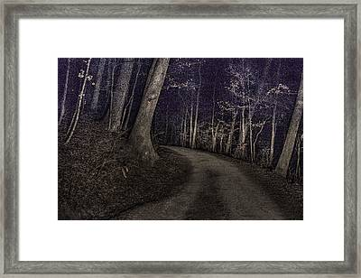 What Lies Lurking Framed Print by William Fields