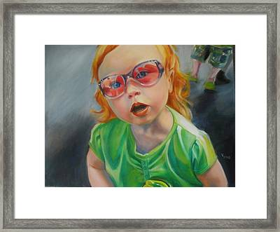 What Mama? Framed Print