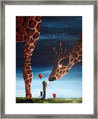 What Matters Most By Shawna Erback Framed Print by Shawna Erback
