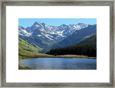 Beautiful Colorado Framed Print by Fiona Kennard