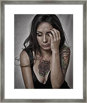 Framed Print featuring the photograph What Next ... by Chuck Caramella