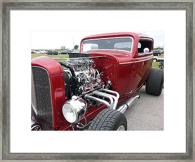 What Pipes Framed Print