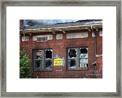 What Remained II Framed Print by Kari Yearous