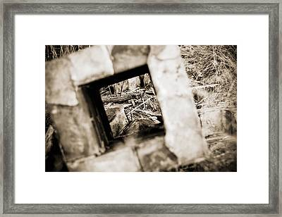 What Remains Framed Print by Amber Kresge