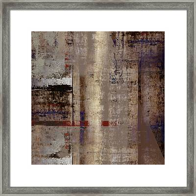 What Remains Framed Print by Carol Leigh