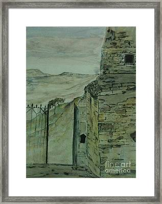 What Remains Framed Print by Nicla Rossini