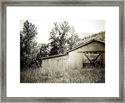 What Remains Framed Print by Terry Eve Tanner