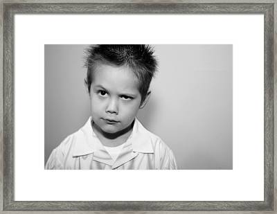 What Framed Print by Stephanie Grooms
