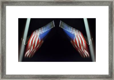 What Supports Your Liberty? 2013 Framed Print by James Warren