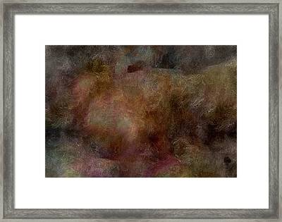 What The Mind Thinks Framed Print