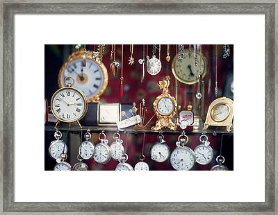 What Time Is It? Framed Print by Ira Shander