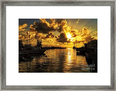 What Tomorrow May Bring Framed Print by GIStudio Photography