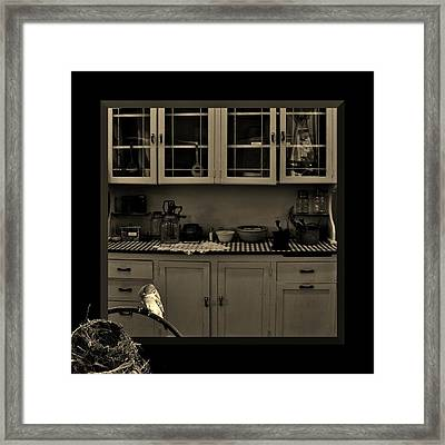 What You Doing Out There Framed Print
