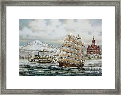 Whatcom Heritage Framed Print by James Williamson