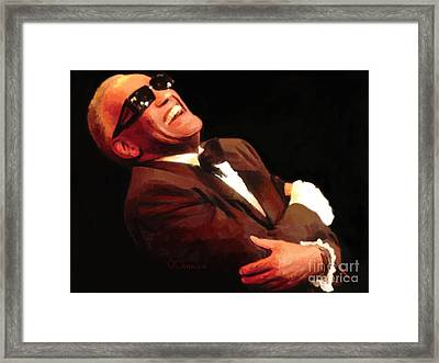 What'd I Say Framed Print by GCannon