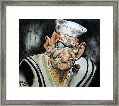 Whatever Happend To Popeye? Framed Print