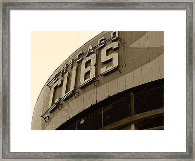 What's A Century Among Friends... Framed Print