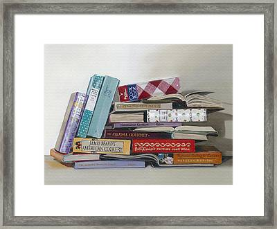 Framed Print featuring the painting What's Cookin' by Gail Chandler