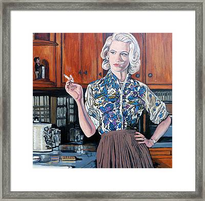 What's For Dinner? Framed Print